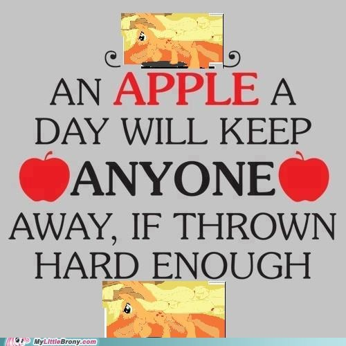 applejack ponies fruit and stuffs apples - 7381017600