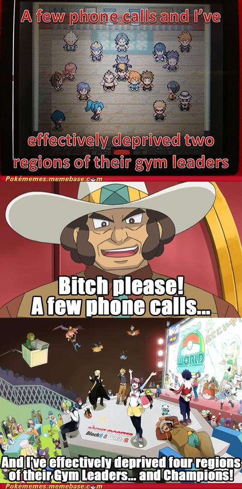 Pokémon gym leaders Hall of Fame gameplay phone calls - 7381263616