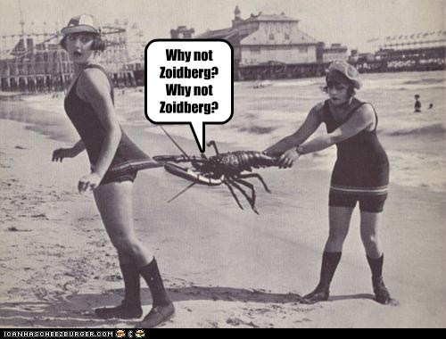 lobsters Zoidberg beaches