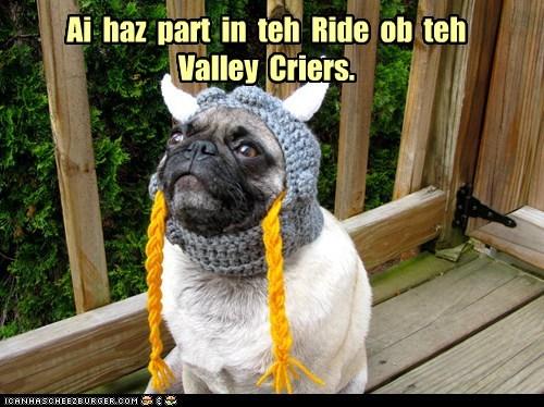 Ai haz part in teh Ride ob teh Valley Criers.