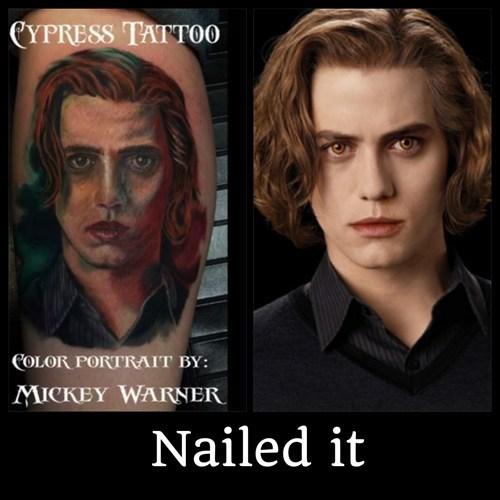 portraits tattoos twilight funny - 7382258688