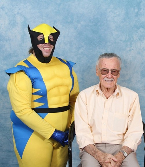 cosplay stan lee wolverine - 7383116800