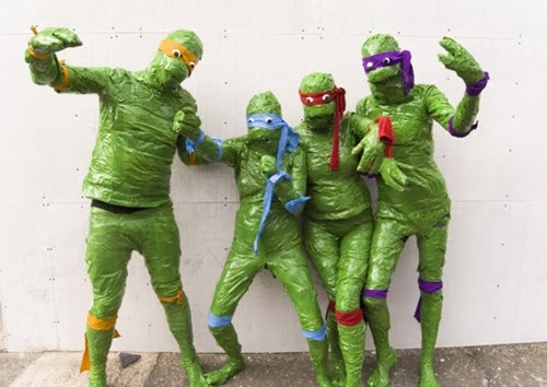 cosplay TMNT duct tape poorly dressed g rated