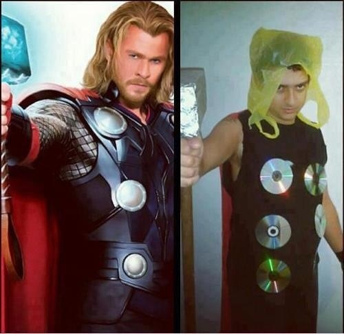 Thor,cosplay,budget