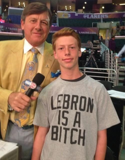 craig sager,lebron james,t shirts,poorly dressed
