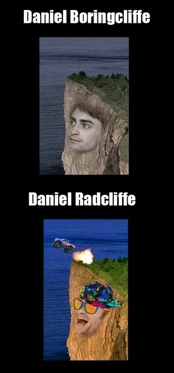 Daniel Radcliffe,pun,photoshop