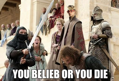 crossover,Music,Game of Thrones,joffrey baratheon,justin bieber