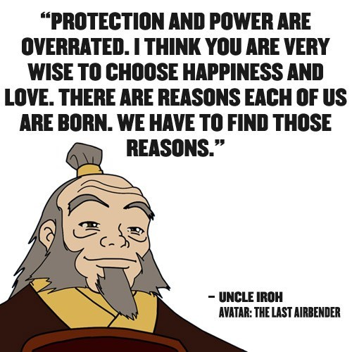 Avatar the Last Airbender quote