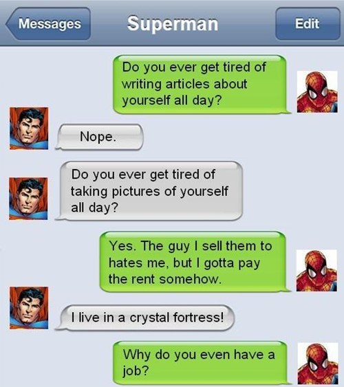 Spider-Man iPhones superheroes superman - 7383597056
