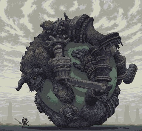 art,mashups,katamari,shadow of the colossus