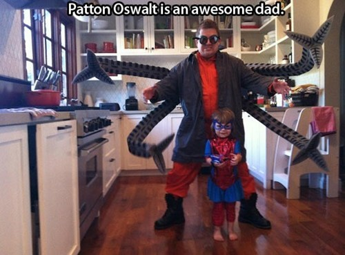 costume,Patton Oswalt,nerd dad,restoring faith in humanity week