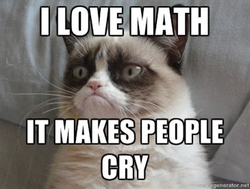 Grumpy Cat angry math g rated School of FAIL - 7383874304