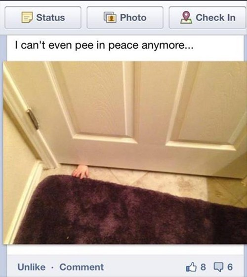 bathroom peeing parenting - 7383915776