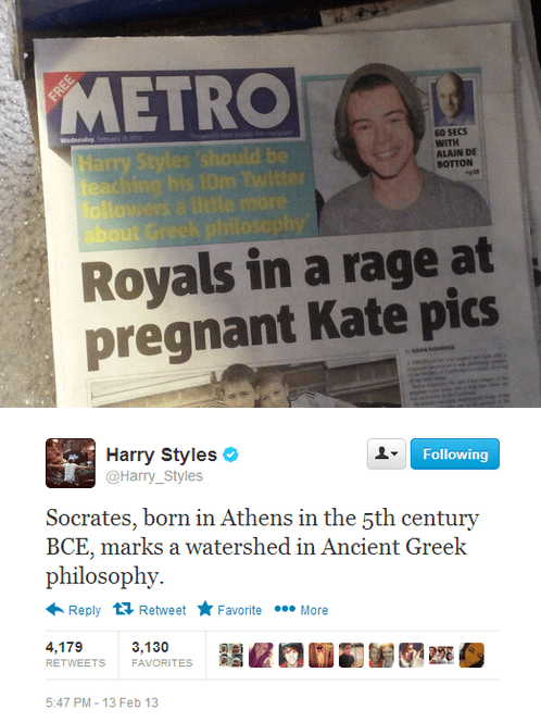 one direction harry styles philosophy - 7384006144
