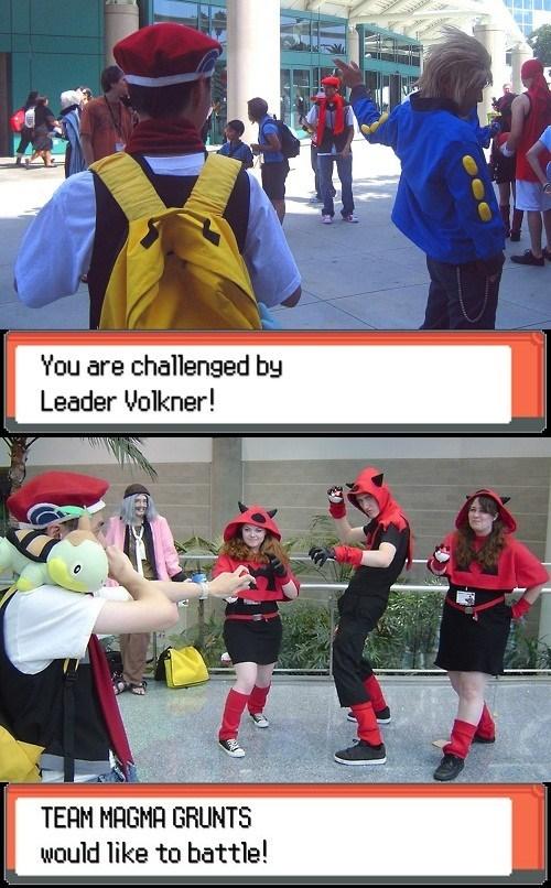 Pokémon cosplay IRL battles - 7384070144