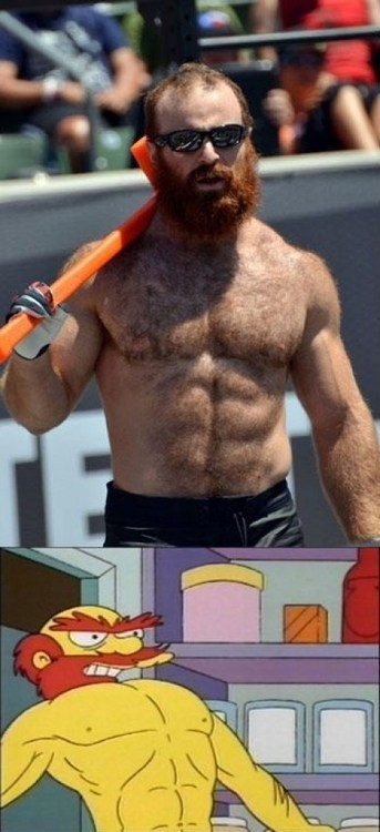 who wore it better groundskeeper willie the simpsons
