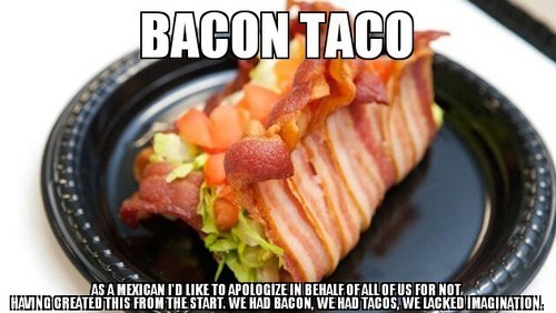 taco food bacon g rated win - 7384157184
