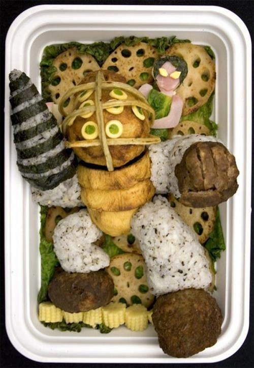 nerdgasm bento food video games bioshock - 7384169728