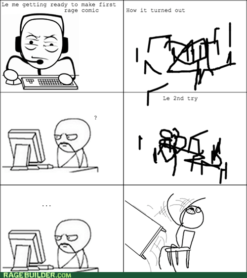 Your first Rage comic