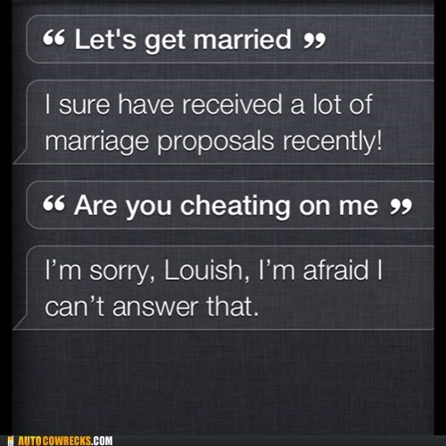 siri heartbroken married - 7384440832