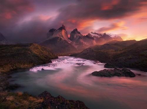 argentina,landscape,pretty colors,sunset