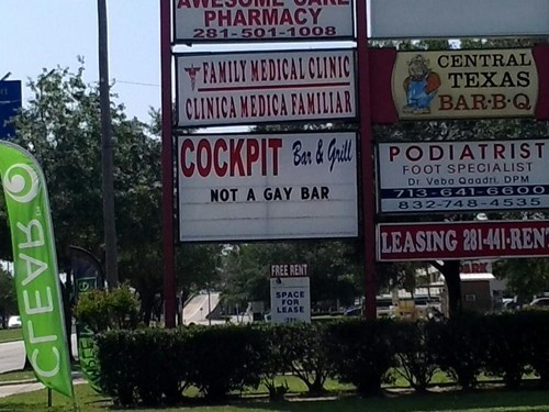 bar lgbtq sign puns - 7384536576