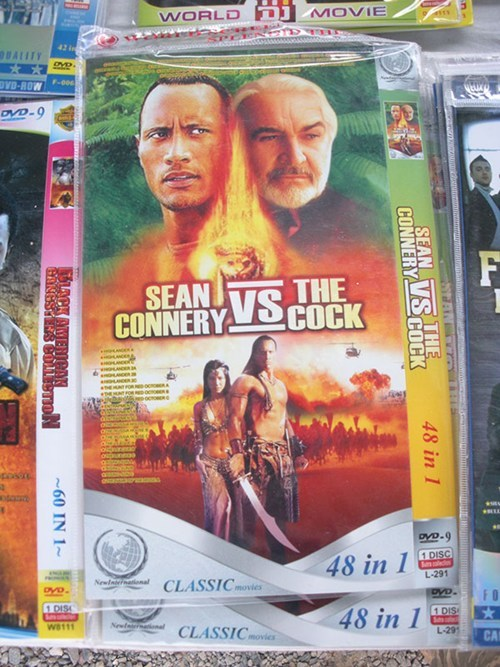 engrish,DVD,the rock,fail nation