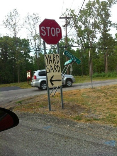 sign,yard sale,genius,spelling,fail nation,g rated