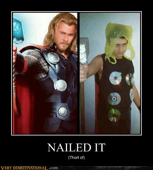 costume,Thor,hair dye