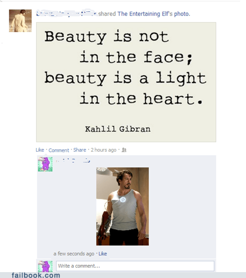 quotes,robert downey jr,inspirational quotes,kahlil gibran,failbook,g rated