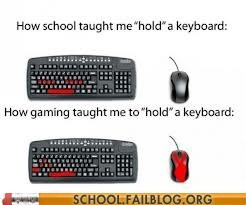class,computers,keyboards,video games