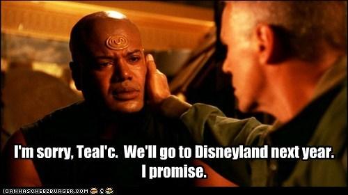 tealc,Stargate SG-1,disneyland