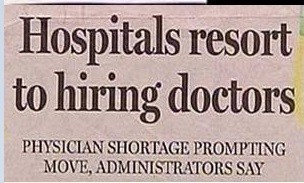 hospital,physicians,headlines,doctors,funny,newspaper