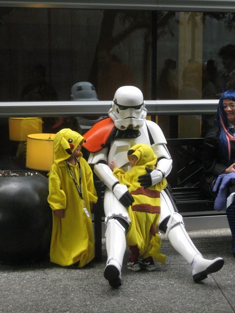 cosplay,star wars,pikachu,restoring faith in humanity week,stormtrooper