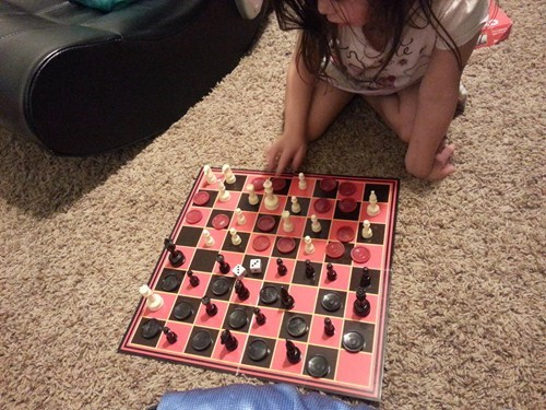 dice board games chess checkers