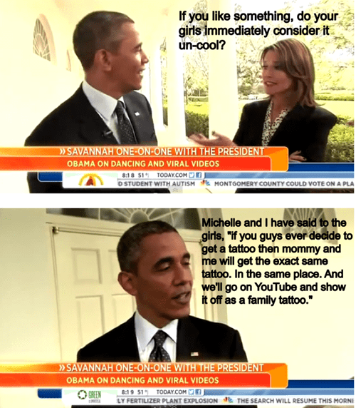 quotes barack obama embarrassing parents g rated Ugliest Tattoos