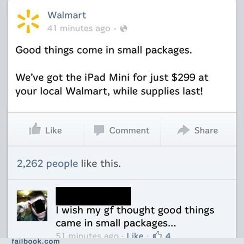 small is good Walmart small peen failbook - 7387247872