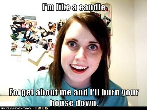 candle overly attached girlfriend relationships