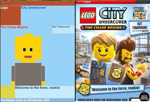 marketing,email,easter eggs,lego city undercover