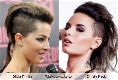 christy mack,totally looks like,olivia thirlby