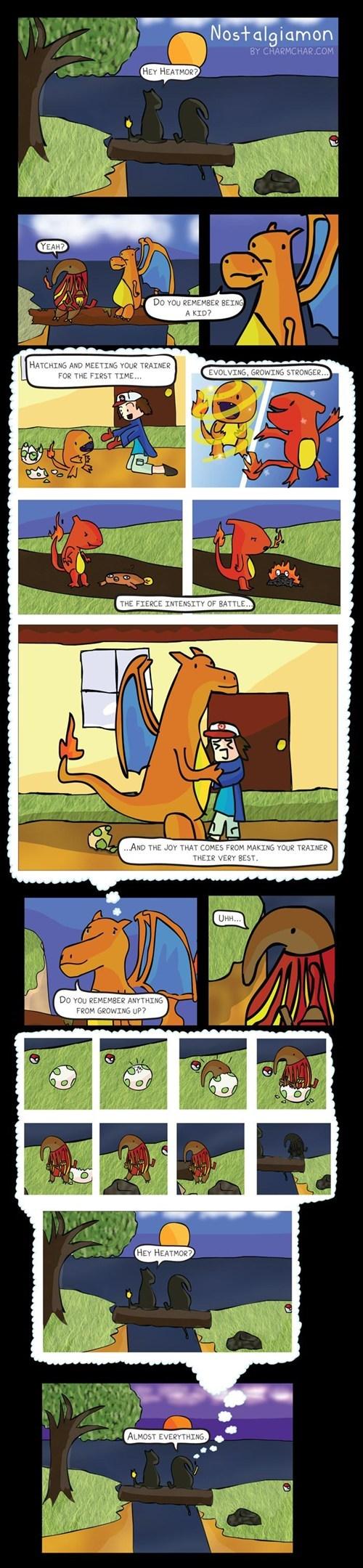 Pokémon charizard nostalgia comics heatmor - 7387455488
