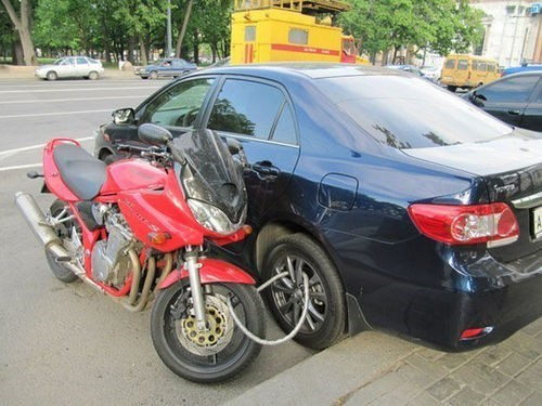 car motorcycle parking - 7387625216