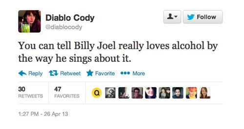 twitter alcohol billy joel - 7387678208