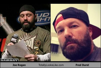 fred durst,totally looks like,joe rogan,beards