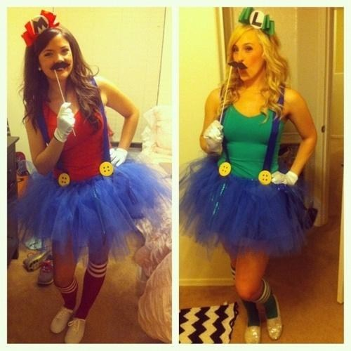 nerdy,costume,video games,Mario and Luigi,mario