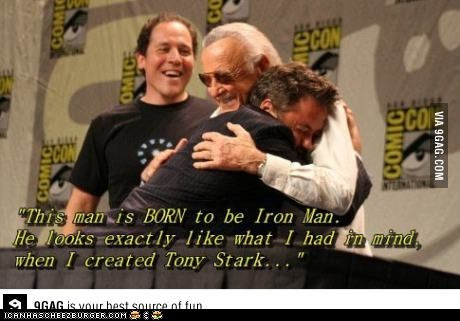 No One Can Iron Man Like Him.