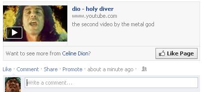 dio,holy diver,celine dion