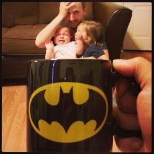 optical illusions,coffee mug,instagram,baby mugging,g rated,parenting