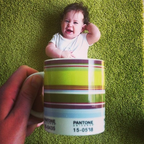 optical illusions,coffee mug,instagram,baby mugging,g rated,parenting
