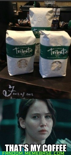 tribute hunger games coffee - 7387887616